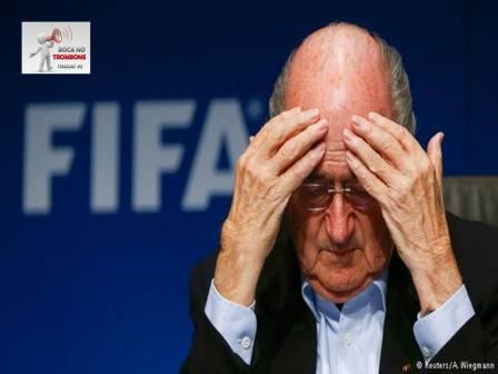 Josefh Blatter presidente da FIFA
