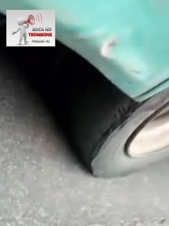 Note o pneu careca