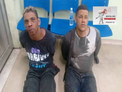 Jhonata Pereira Cardozo de 28 anos e Fabrício Barboza Santos Silva de 21.