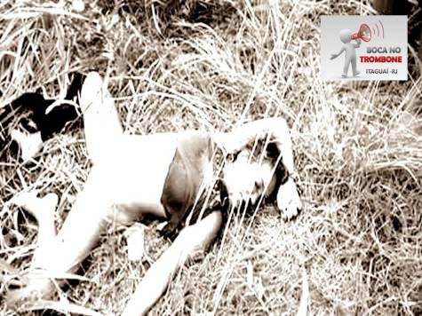 Vitima encontrada por moradores morta em um matagal