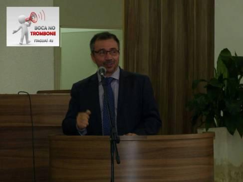 Prefeito Weslei Pereira, relatou a importância do momento para a cidade